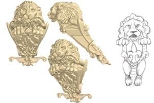 lionSculptCAD